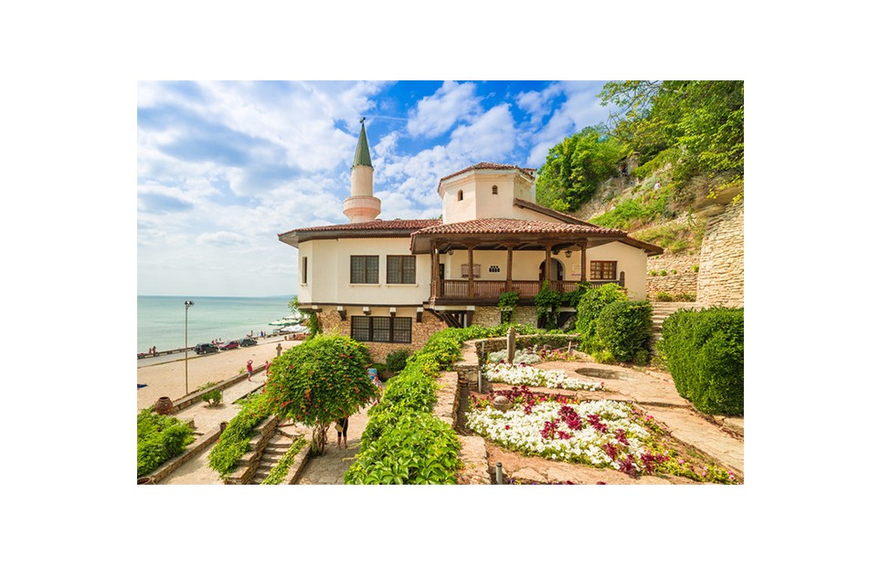The Palace and the botanical garden in Balchik