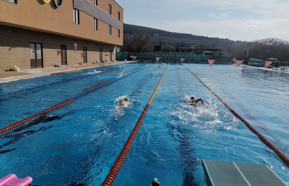 Season 2019 started form Olympic pool at Therma Camp