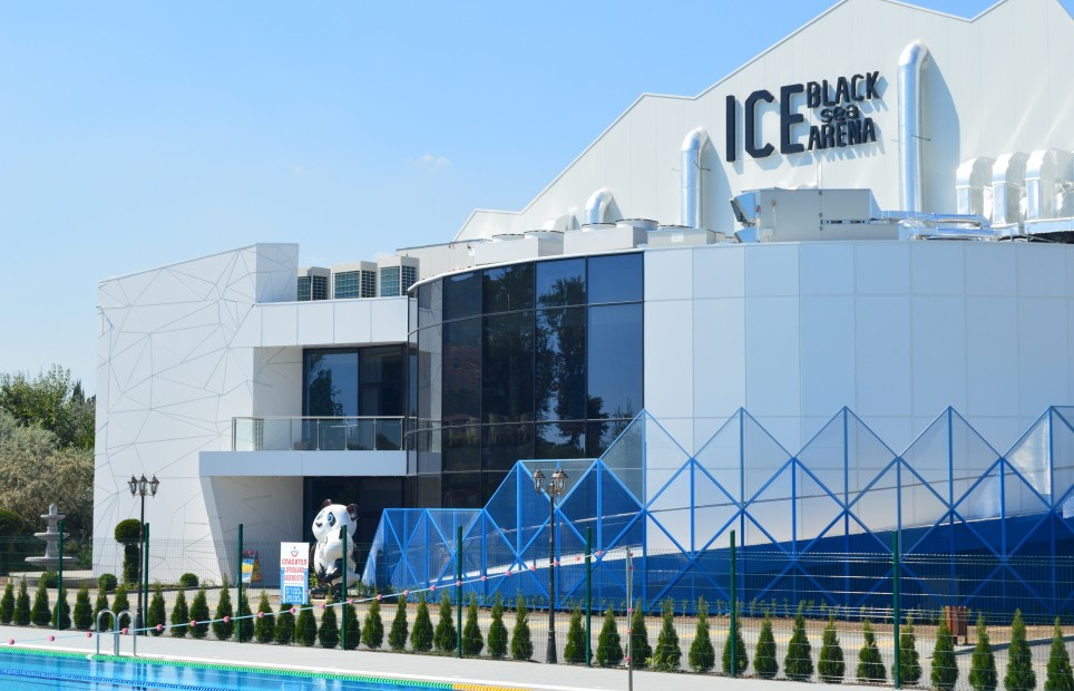 "Prices for accommodation for hockey and figure skating teams in ""Olympic Pool Camp"" and training in  'Black Sea Ice Arena'"