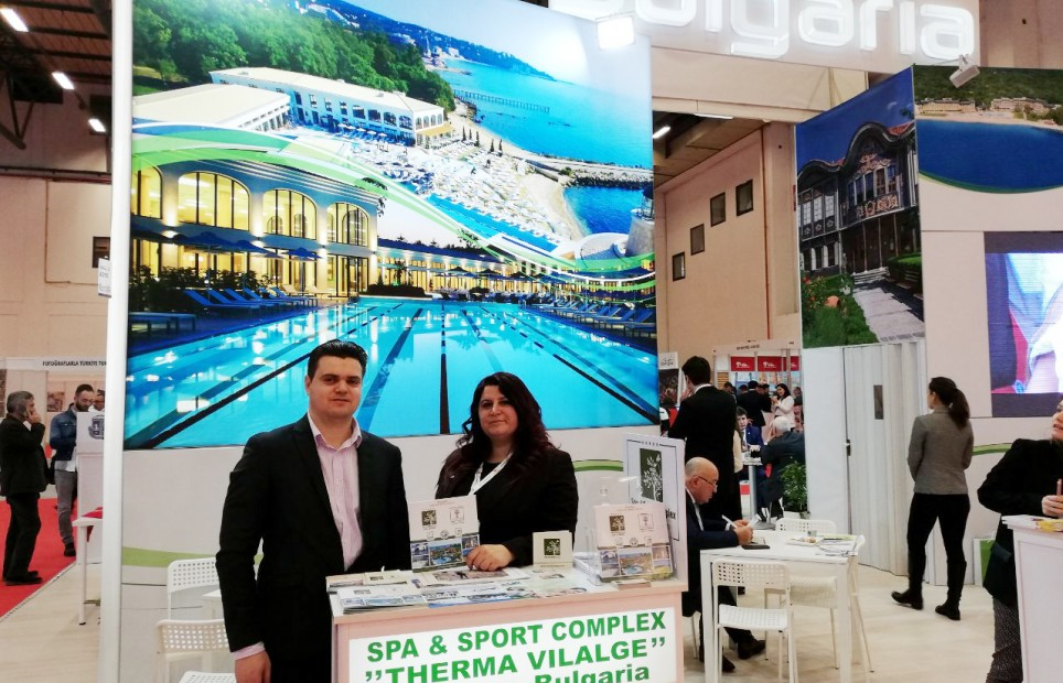 Therma Village at EMITT, Istanbul, Turkey31.01.-03.02.2019