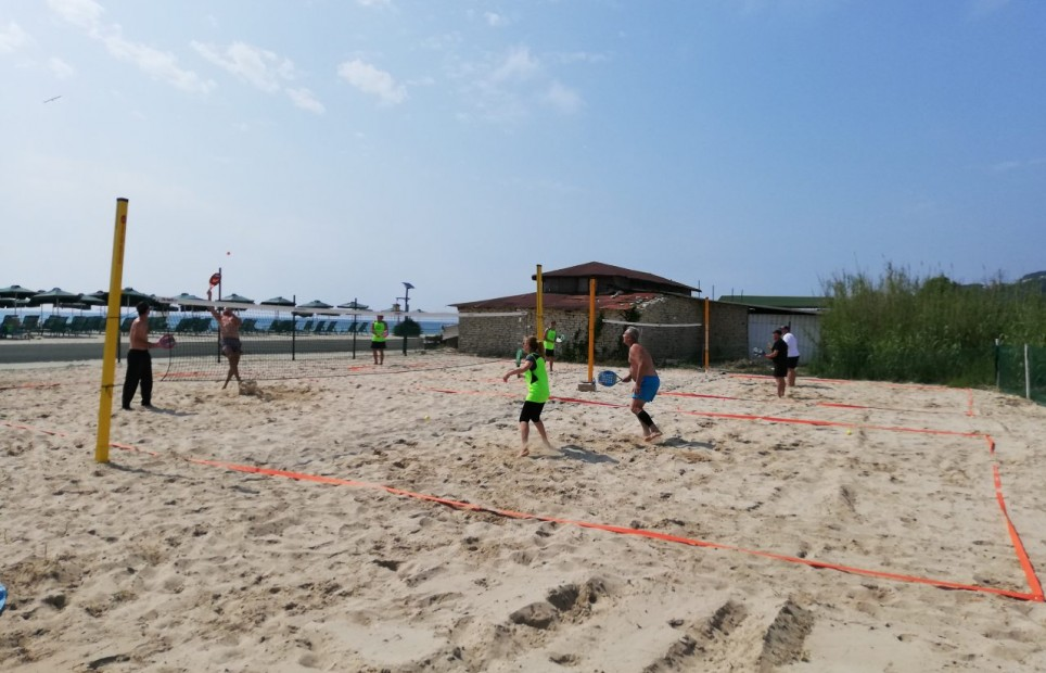 Beach Tennis at Therma Village