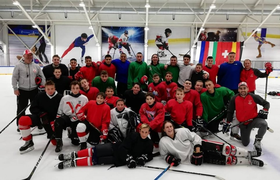Ice Hockey Club CSKA at Therma Ice Camp