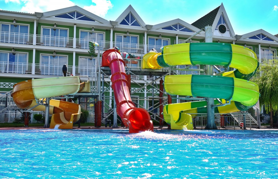 Mini Aquapark in Hotel Terma Eco is open