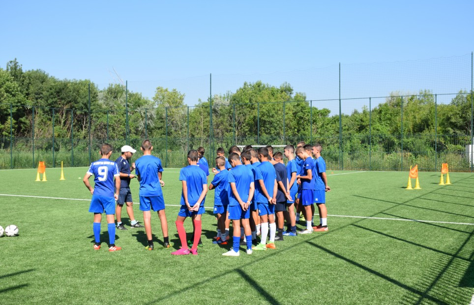 FC Spartak Pleven 1919 training camp In Therma Eco Village